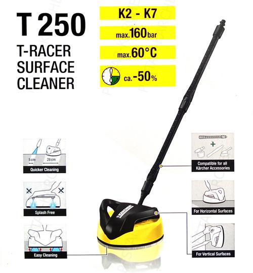 Captivating T Racer T 250 Plus To Przystawka Do Szybkiego I Efektywnego Czyszczenia  Powierzchni Płaskich. Dwie Płaskie Dysze Zamontowane Na Obracającym Się  śmigle ...